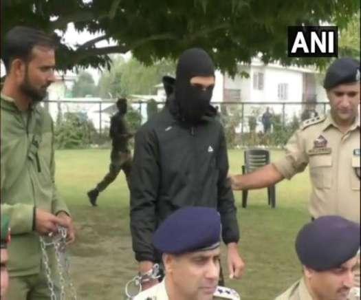 Jammu Kashmir, Baramulla, Jaish-e-Mohammed, Terrorist, arrested,