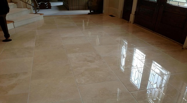stone and tile floors
