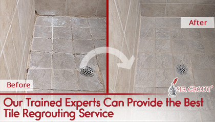 can you regrout over existing grout