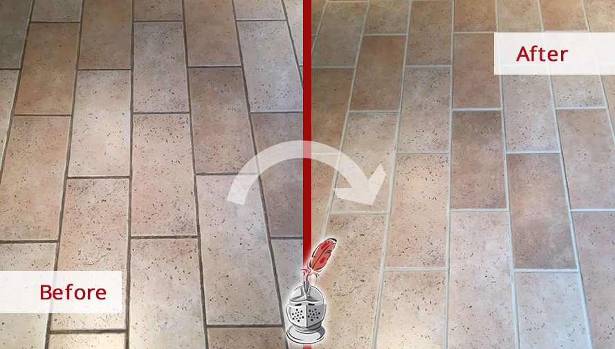 a grout cleaning in berwyn pa brought