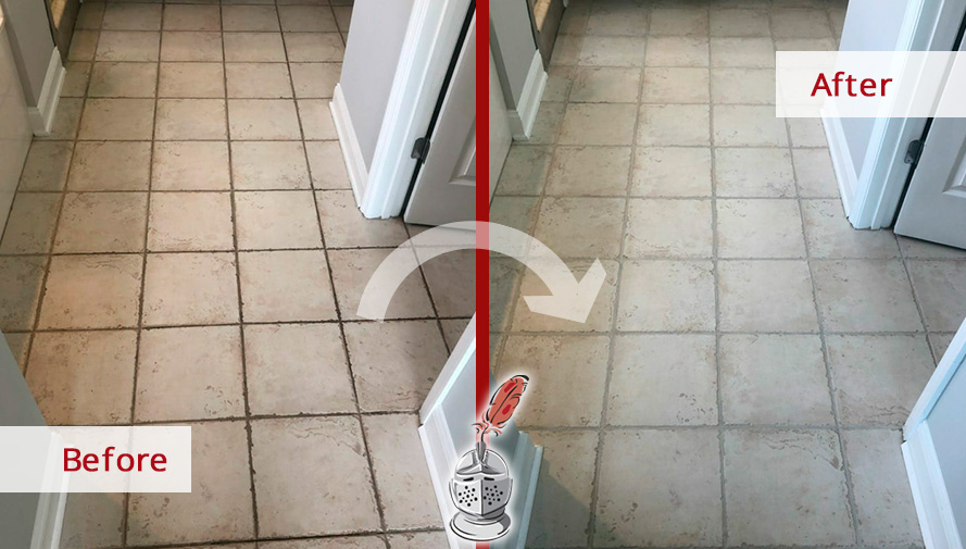 our jacksonville grout cleaning experts
