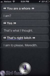 You Are A Whore- Siri Talks Dirty