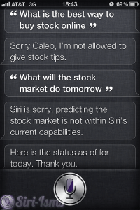 What Is The Best Way To Buy Stocks Online?~ Funny Siri Sayings