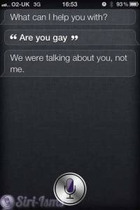 Are You Gay? And Siri Says...