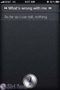 What's Wrong With Me?- Funny SIri Sayings