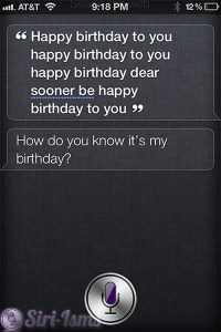 Happy Birthday To You!~ Funny Siri Sayings