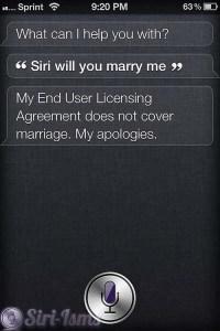 Siri Will You Marry Me? - Siri Says