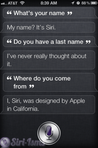 What Is Your Last Name Siri?