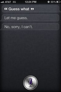 Guess What! Funny Siri Sayings