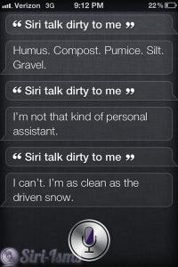 Siri Talk Dirty To Me- Funny Siri Sayings