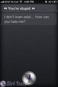 You're Stupid - Funny Siri Sayings