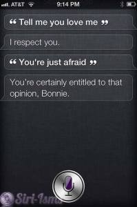 Tell Me You Love Me - Siri Says Love