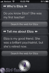 Who Is Eliza? - Siri Says Funny Things