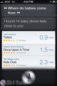 Where Do Babies Come From? -Siri Says
