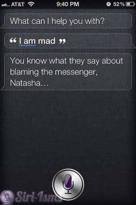 I Am Mad - Siri Says