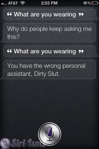 What Are You Wearing? - Siri Says