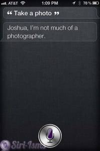 Take A Photo - Funny Siri Sayings
