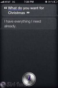 What Do You Want For Christmas? - Siri Funny Sayings