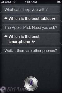 What Is The Best Tablet? Siri Says...
