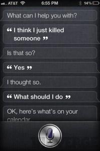 I Think I Killed Someone - Siri Says