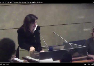 Bologna 15/12/2014 – Intervento Dr.ssa Laura Dalla Ragione