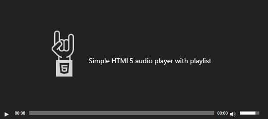 HTML Audio Player