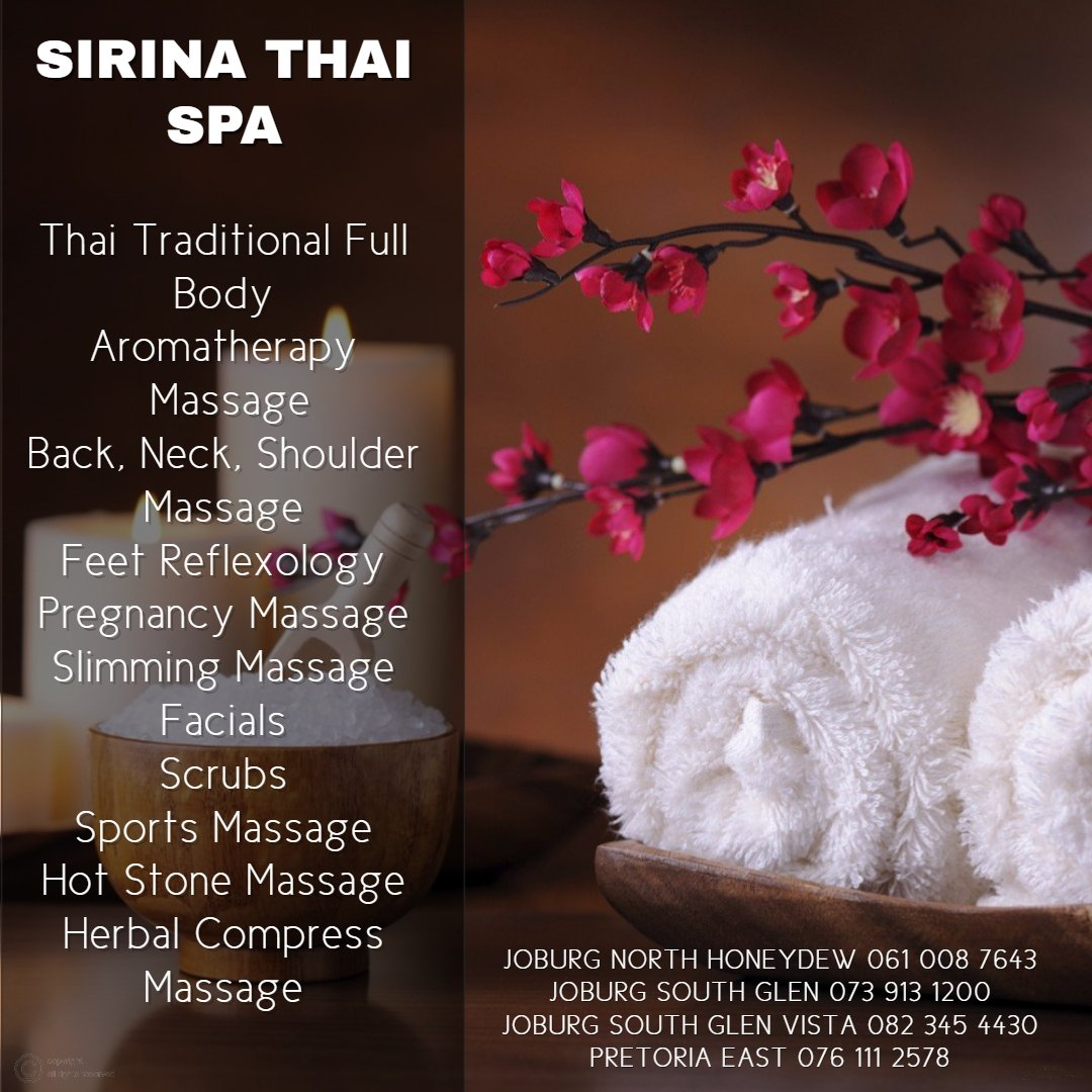 Benefits of visiting Sirina Thai Spa