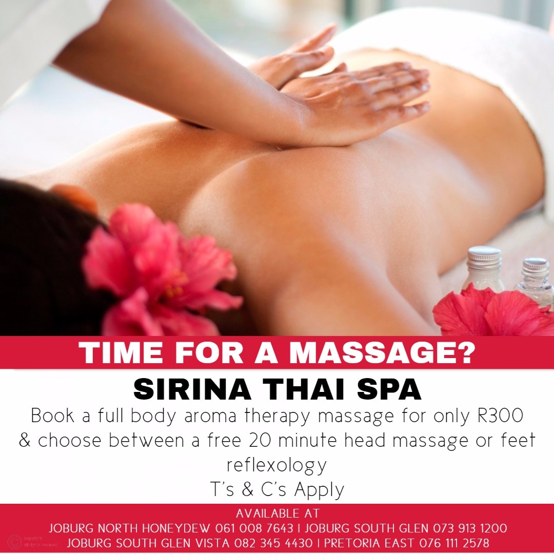 Time for a massage?