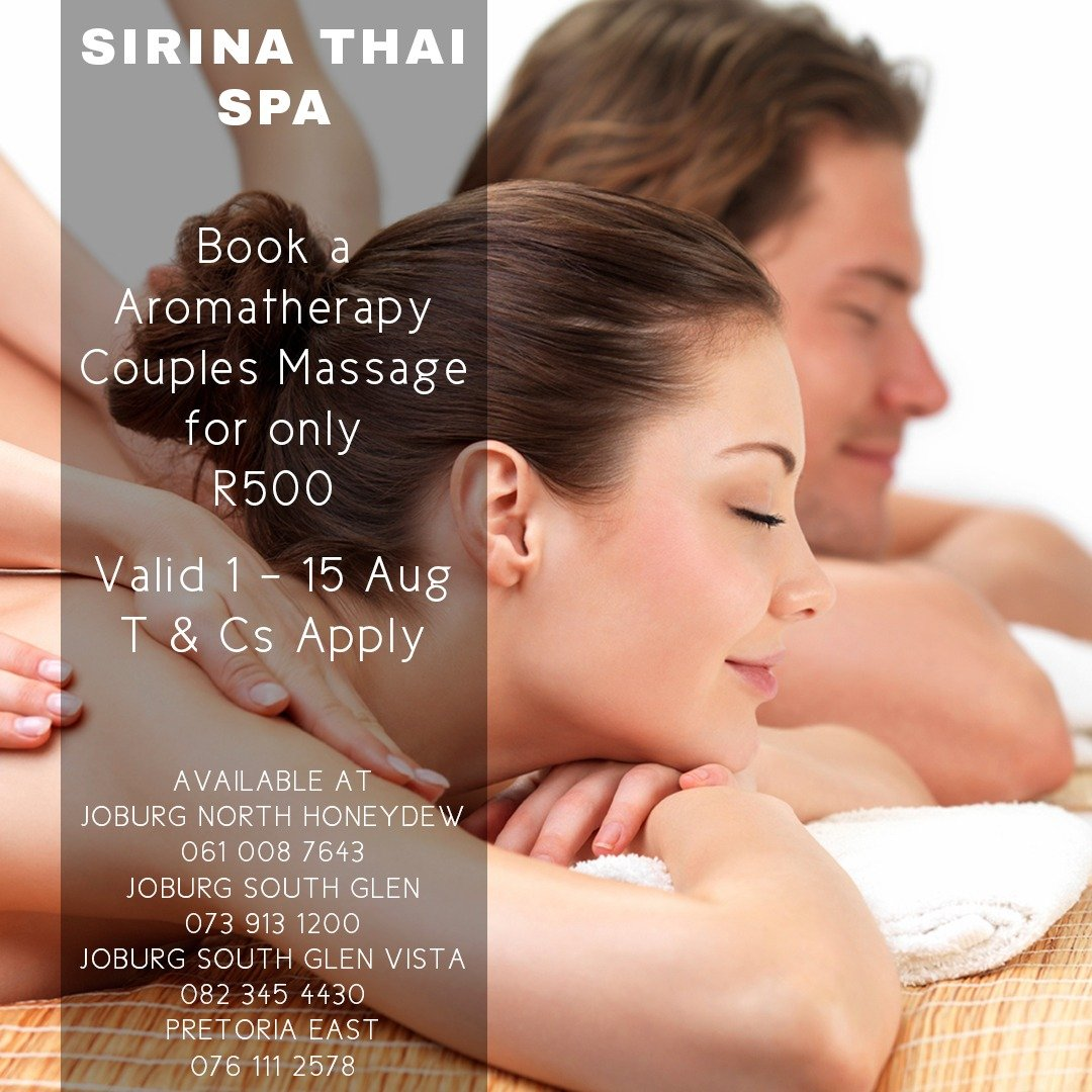 Sirina Thai Spa August Special