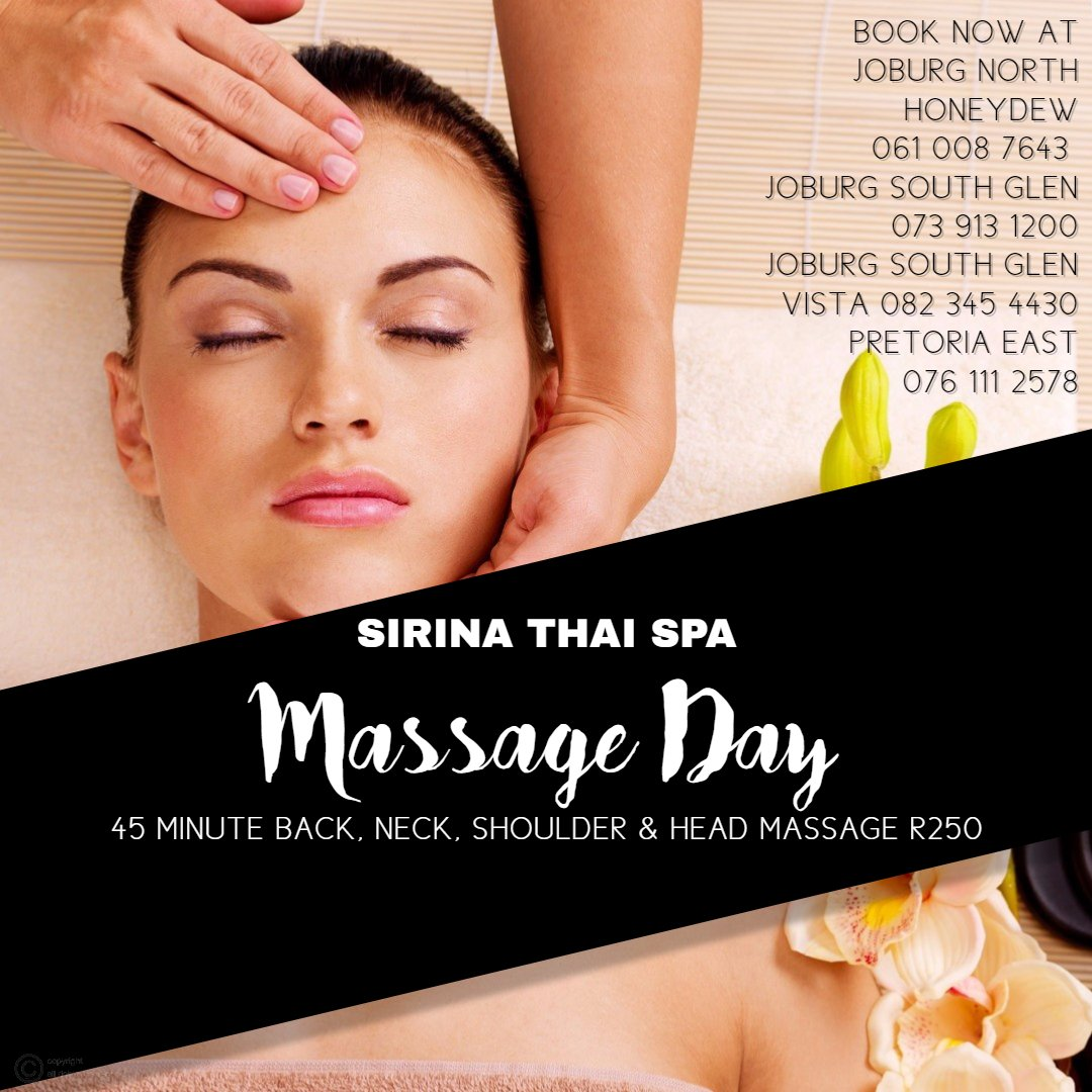 SIRINA THAI SPA 45 MINUTE MASSAGE