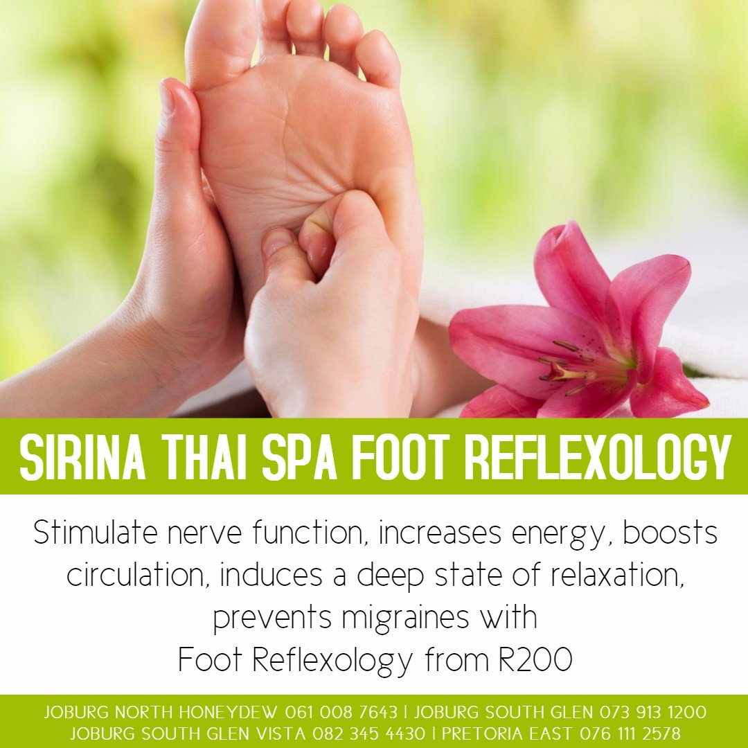 Sirina Thai Spa Foot Reflexology Treatments
