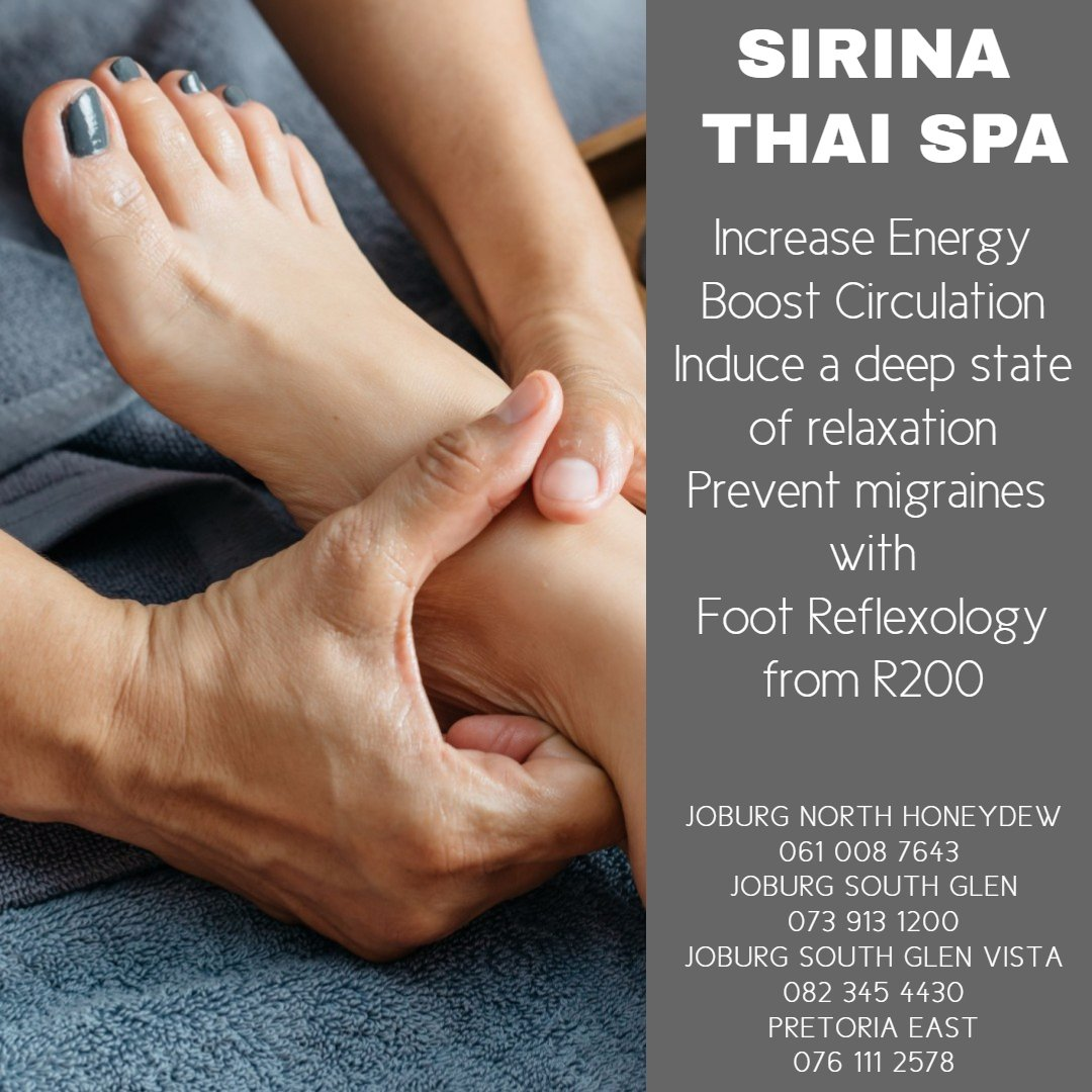 Sirina Thai Spa Foot Reflexology