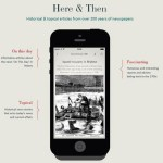 Here & Then: The British Newspaper Archive's brand new mobile app