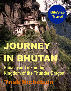 """Journey in Bhutan,"" by Trish Nicholson on Amazon"