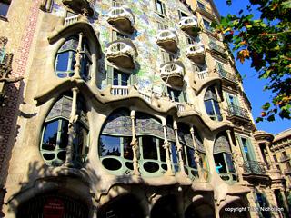 Antoni Gaudí: Frontage Casa Batllo