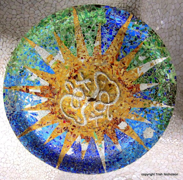 Antoni Gaudí's mosaics at Park Güell—stories within stories