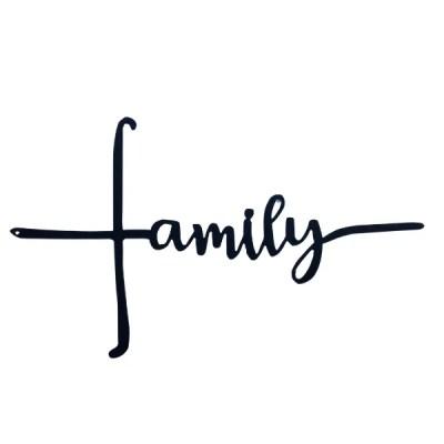 metal family cross horizontal