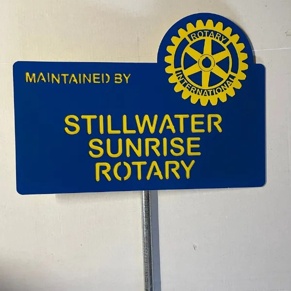 custom sunrise rotary
