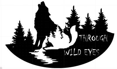 Wolf Through Wild Eyes V1