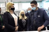 """Preduzeće """"Roloplast Mošić"""" obišla ministarka Kisić Tepavčević"""