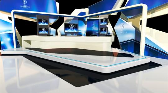Plató Champions Televisión Canaria