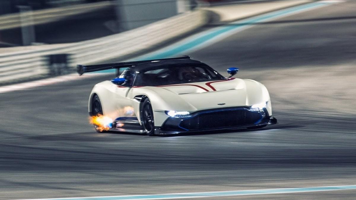 Chris Harris In The Aston Martin Vulcan - Top Gear: Series 23 - BBC