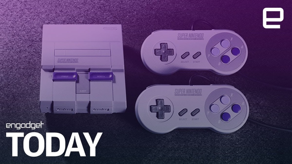 Officiell! : SNES MINI!