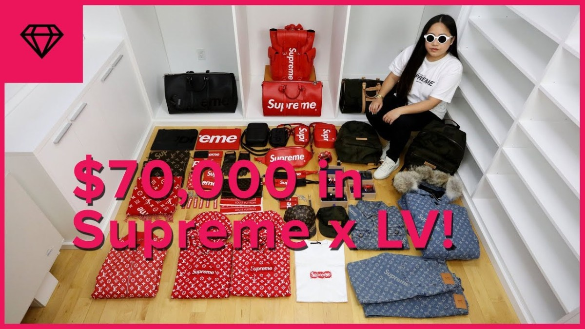 Unboxing $70,000 Worth of Supreme x Louis Vuitton