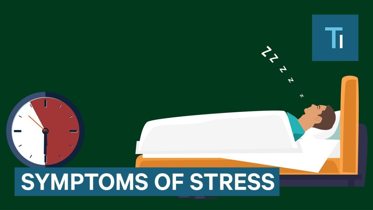 Terrible Symptoms of Stress on the Body