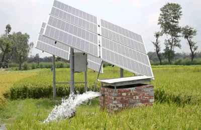 solar pump set