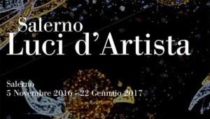 Nel periodo invernale a Salerno si svolge il Festival Luci d'Artista