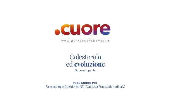 Colesterolo ed evoluzione - Seconda Parte