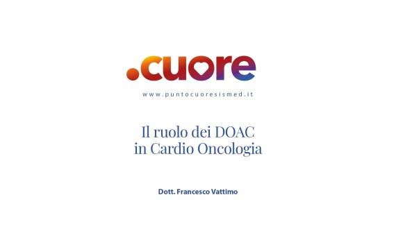 Il ruolo dei DOAC in Cardio Oncologia