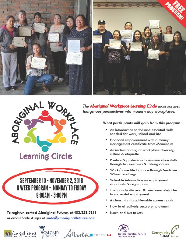 Aboriginal Workplace Learning Circle